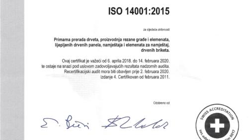 Secom-ISO-14001-2015